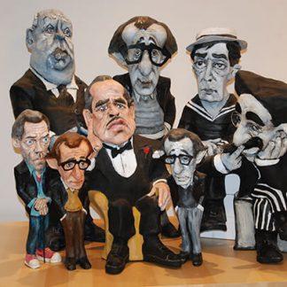 Figuras de personajes de cine y televisión