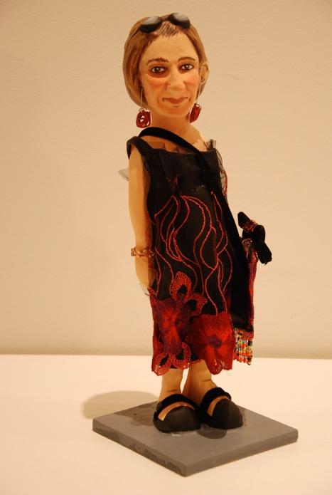 figura personalizada de papel mache para regalo 50 aniversario