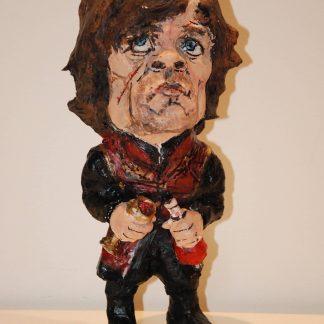Figura-hecha-en-papel-maché-de-Tyrion-Lannister-Juego-de-Tronos