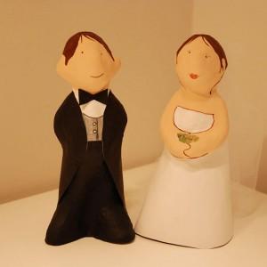 figura de mini parejas para bodas