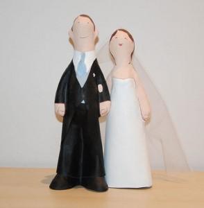 parejas de novios para tartas de boda