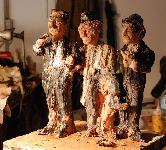figuras de carton piedra de los hermanos marx